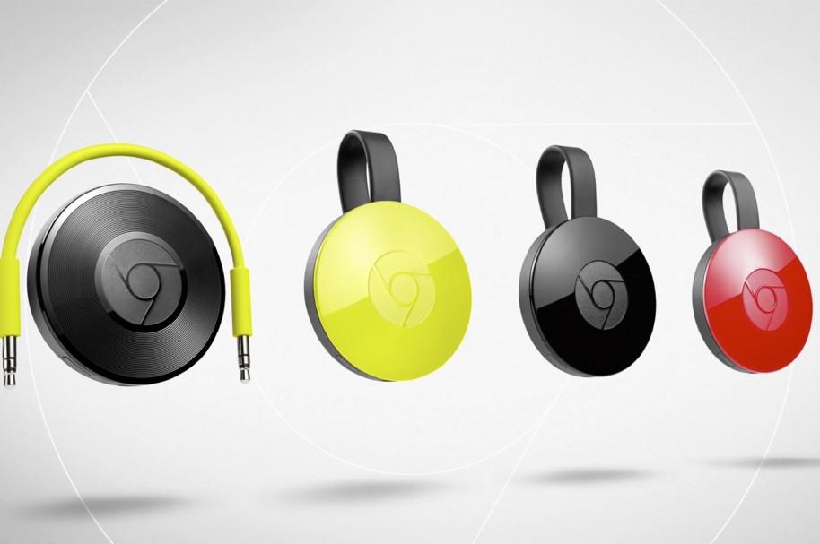 Google Chromecast (2015) y Chromecast Audio llegan a México