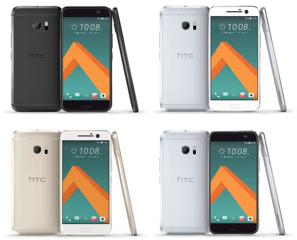 htc 10  renders colores