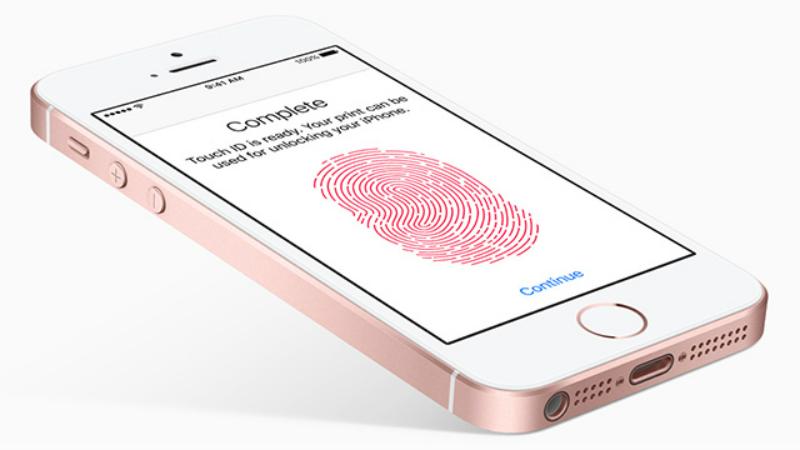 iPhone SE y iPhone 5S comparten el mismo sensor Touch ID