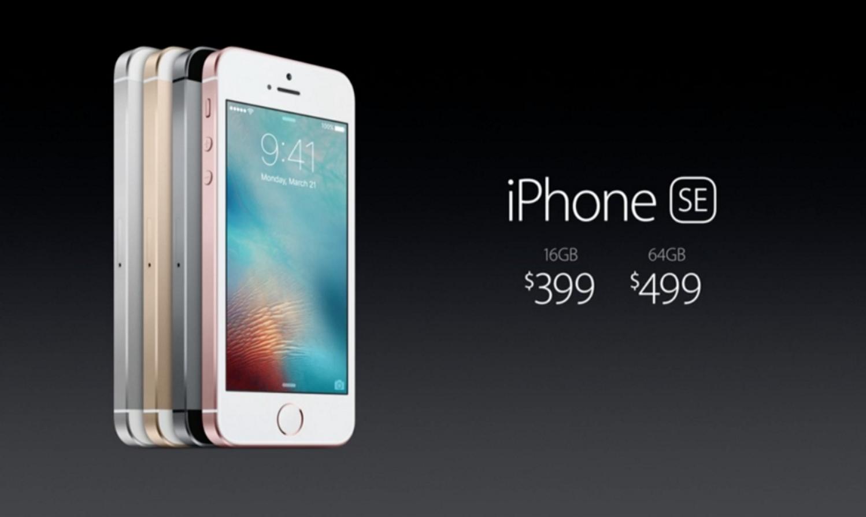Producir un iPhone SE cuesta menos de $200 dólares