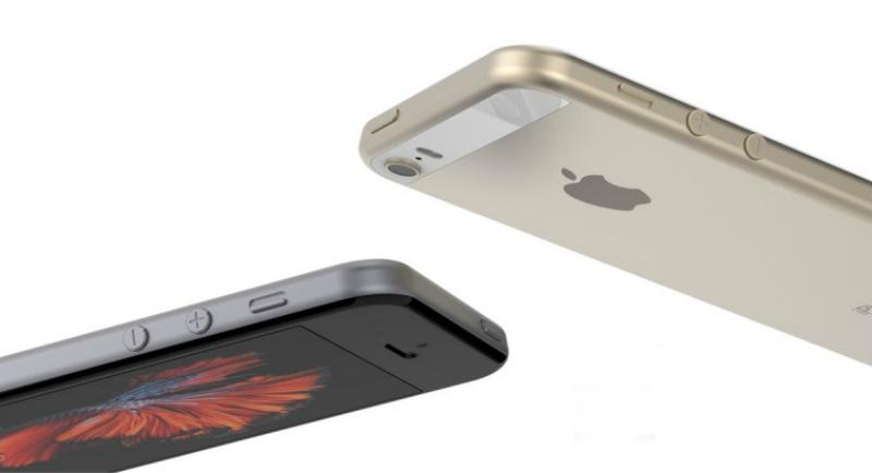 Render del iPhone SE diseñado por MacRumors