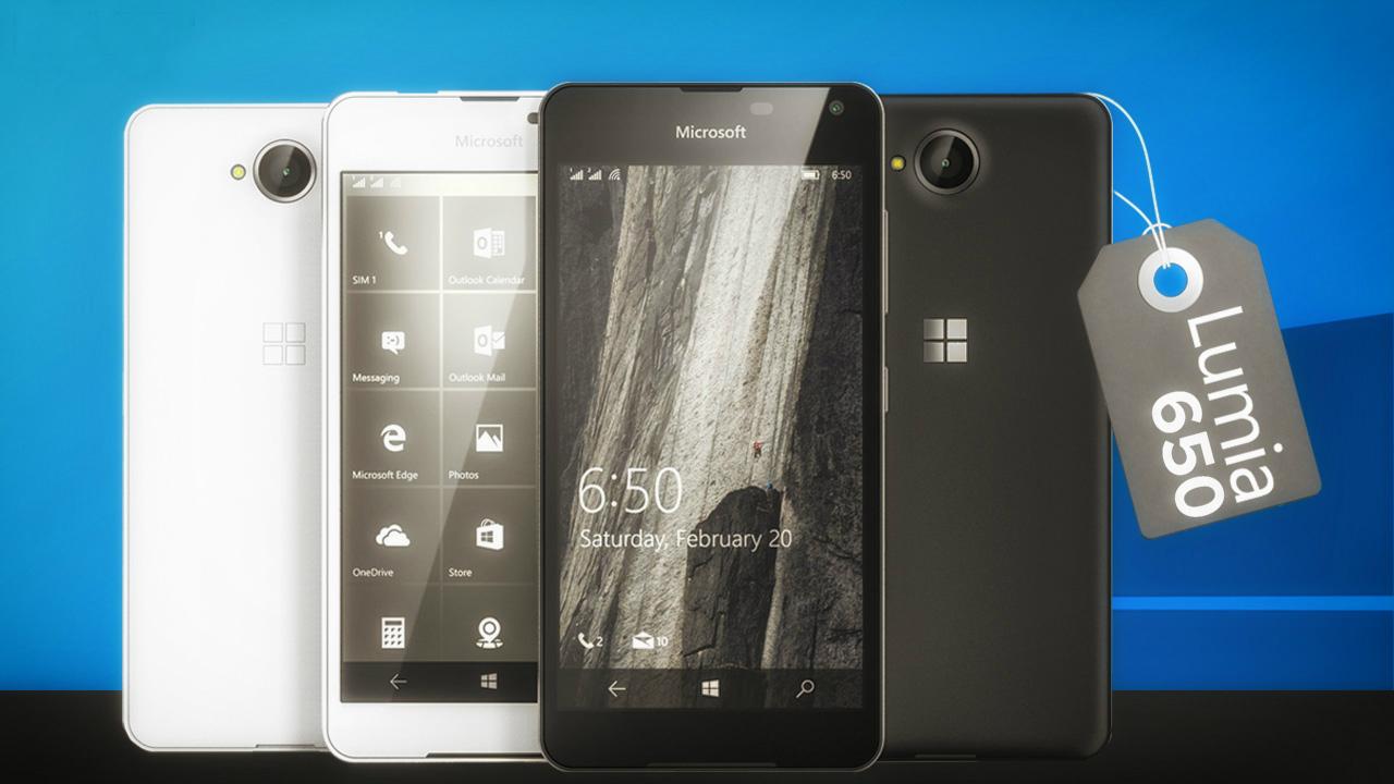 Lumia 650 será comercializado por Movistar