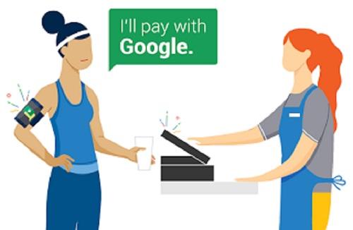 pago inalambrico google