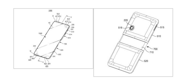 samsug patente smartphone flexible