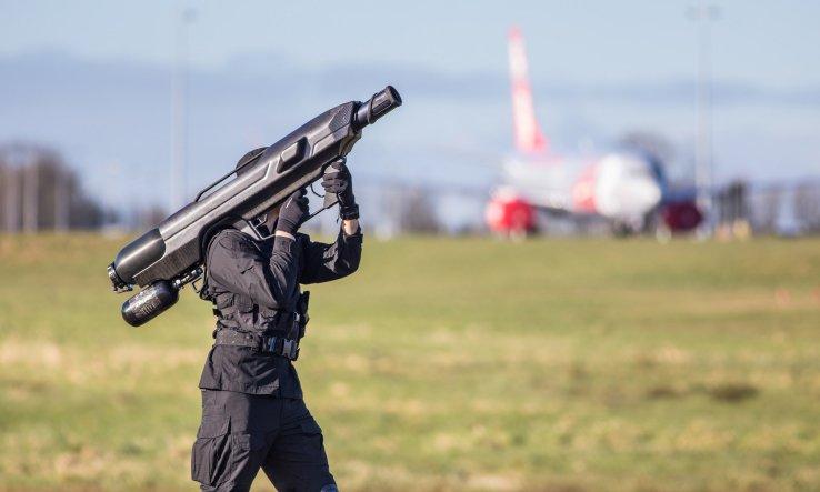 Una interesante arma para evitar problemas con drones