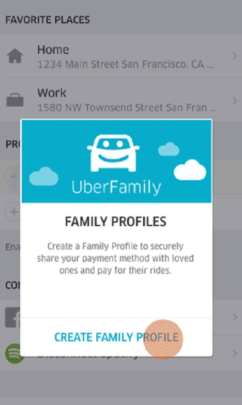 uber family profiles