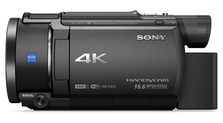 videocamara-4k-sony-Handycam-FDR-AX53