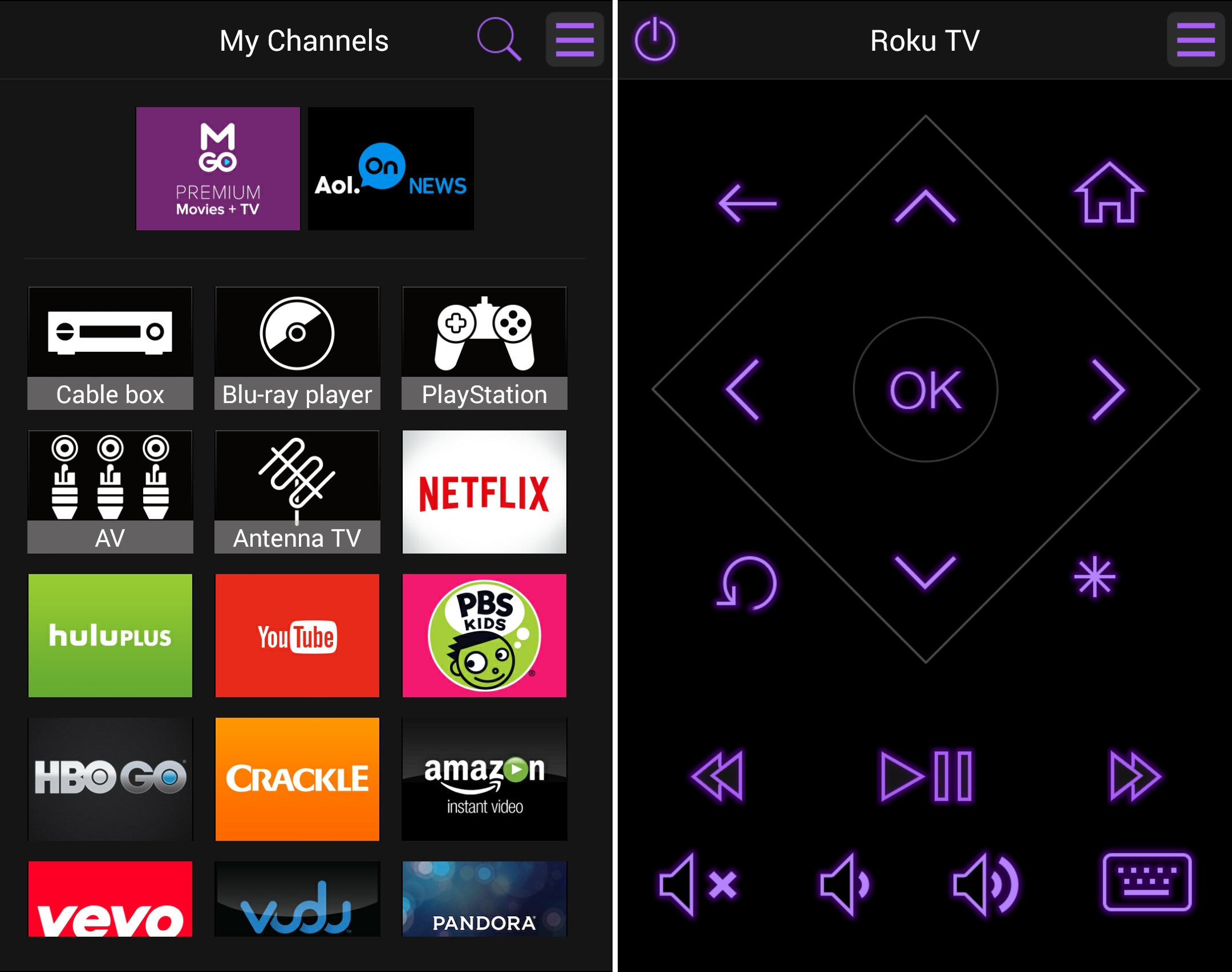 Android-Roku-TV-Mobile