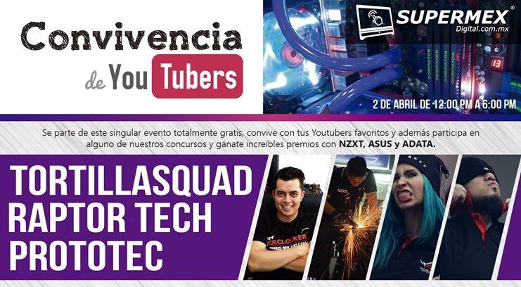 Tortilla Squad, Raptor Tech y Prototec estarán allí, te esperamos