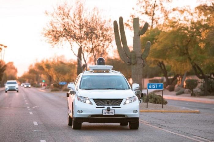 Coche autónomo de Google en Phoenix