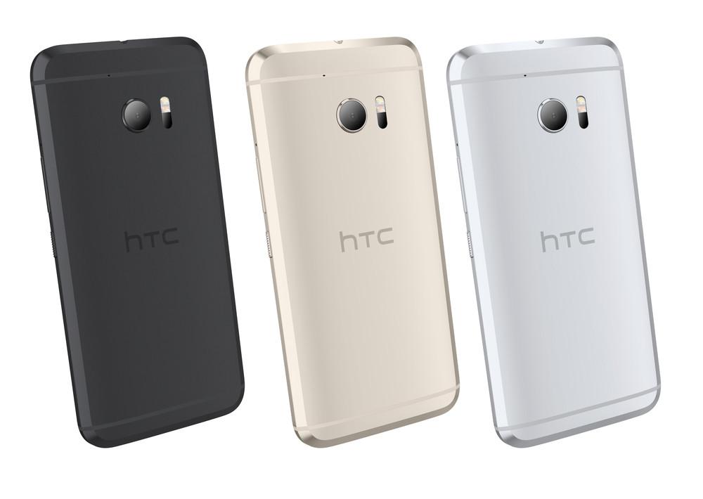 HTC 10 diseño trasero