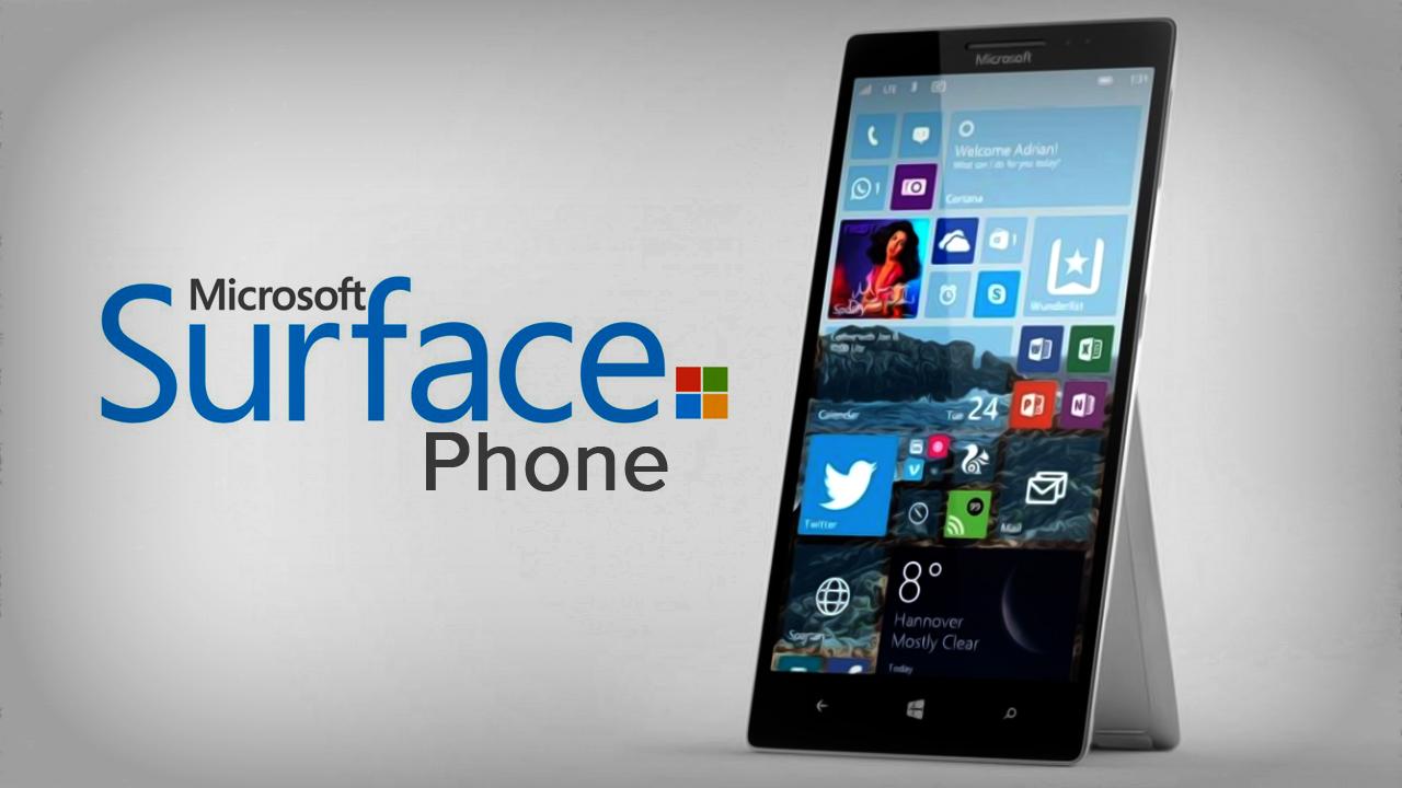Surface Phone llegaría con un Snapdragon 830 y 8 GB de RAM