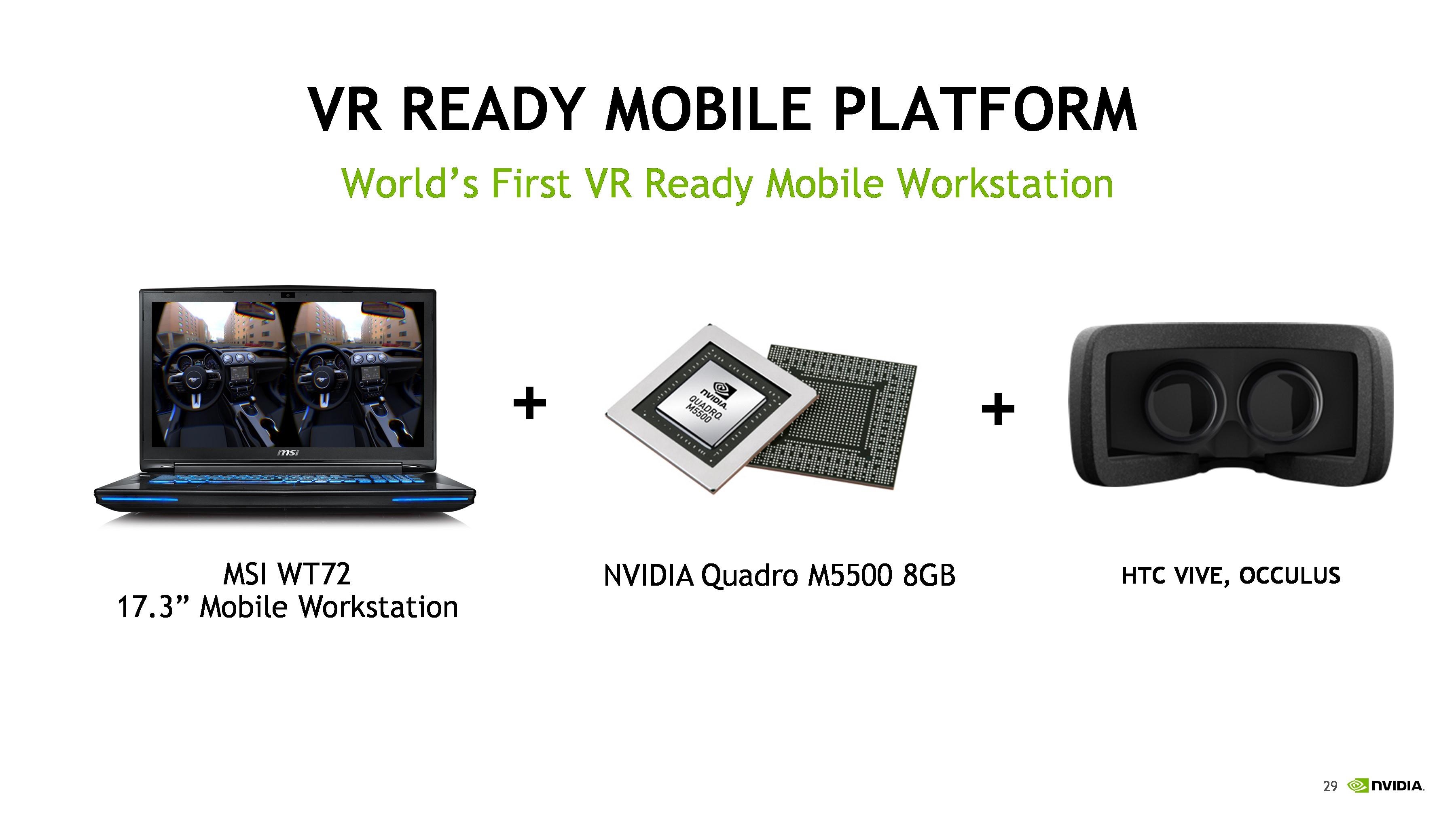 NVIDIA VR Ready Program