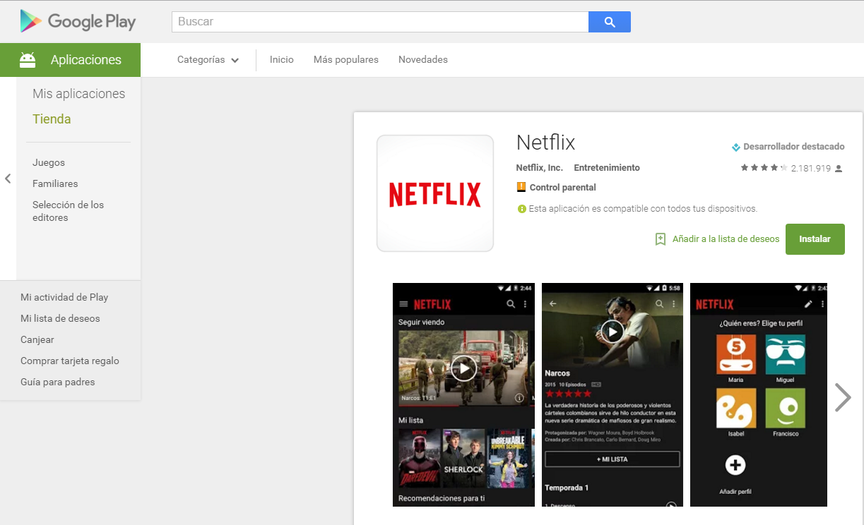 Netflix-para-Android-desde-Play-Store