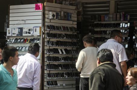 Teléfonos robados Ciudad de México