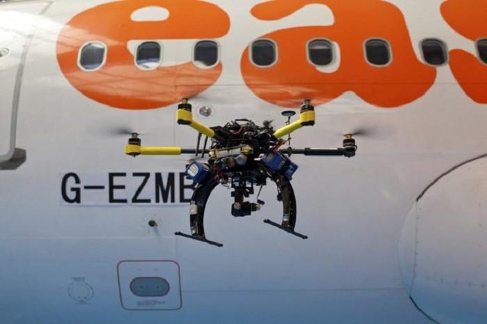 avon choca con dron