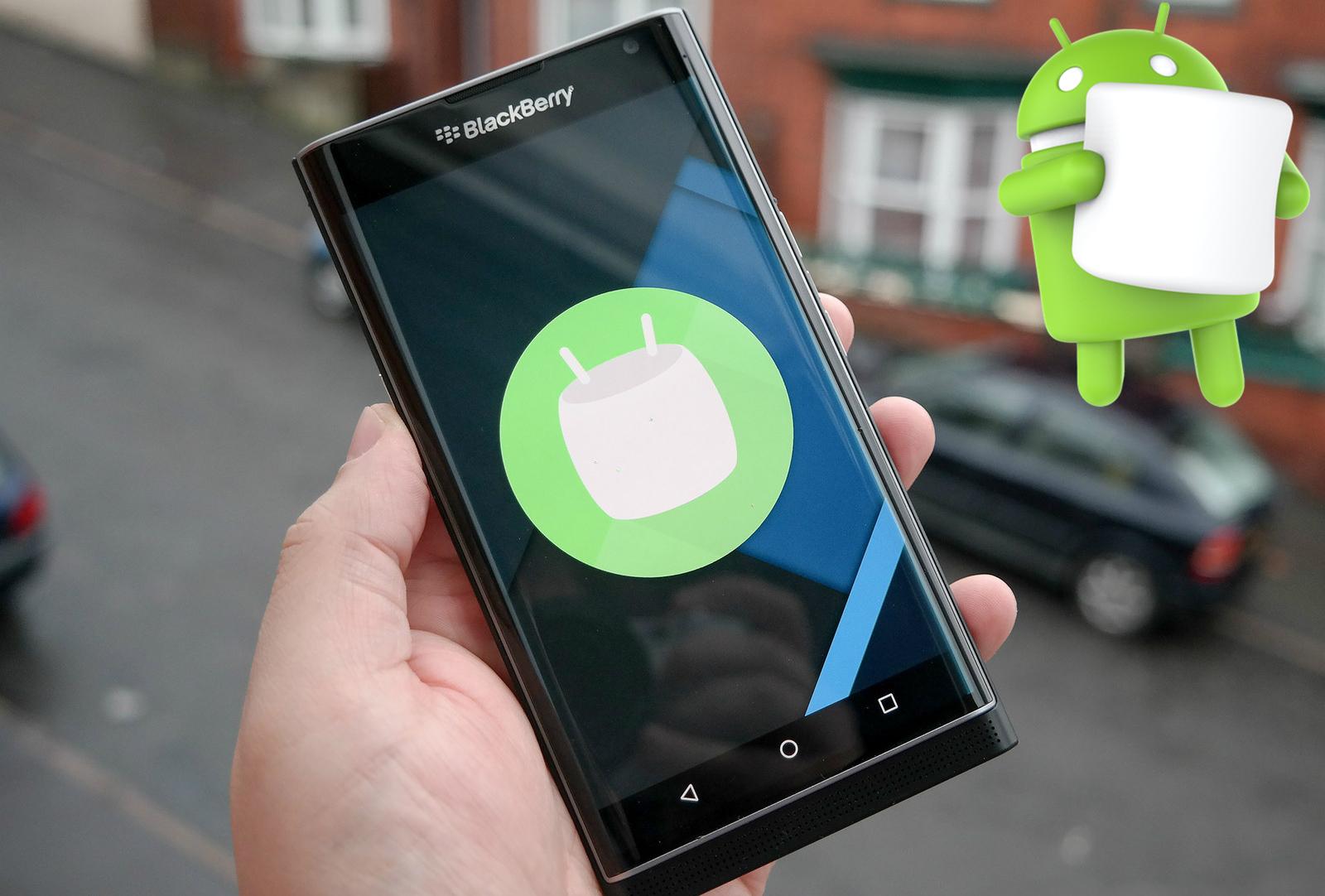 BlackBerry Priv podrá disfrutar de Marshmallow a partir del 3 de mayo