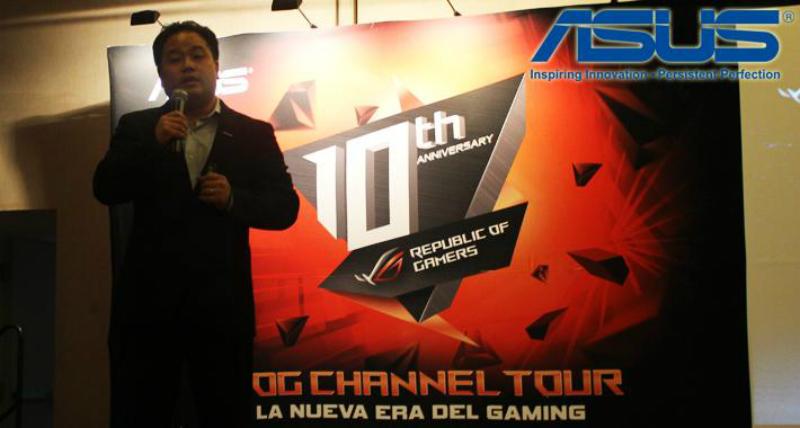 Mark Kao, director general de ASUS nos platicó más sobre la marca ROG