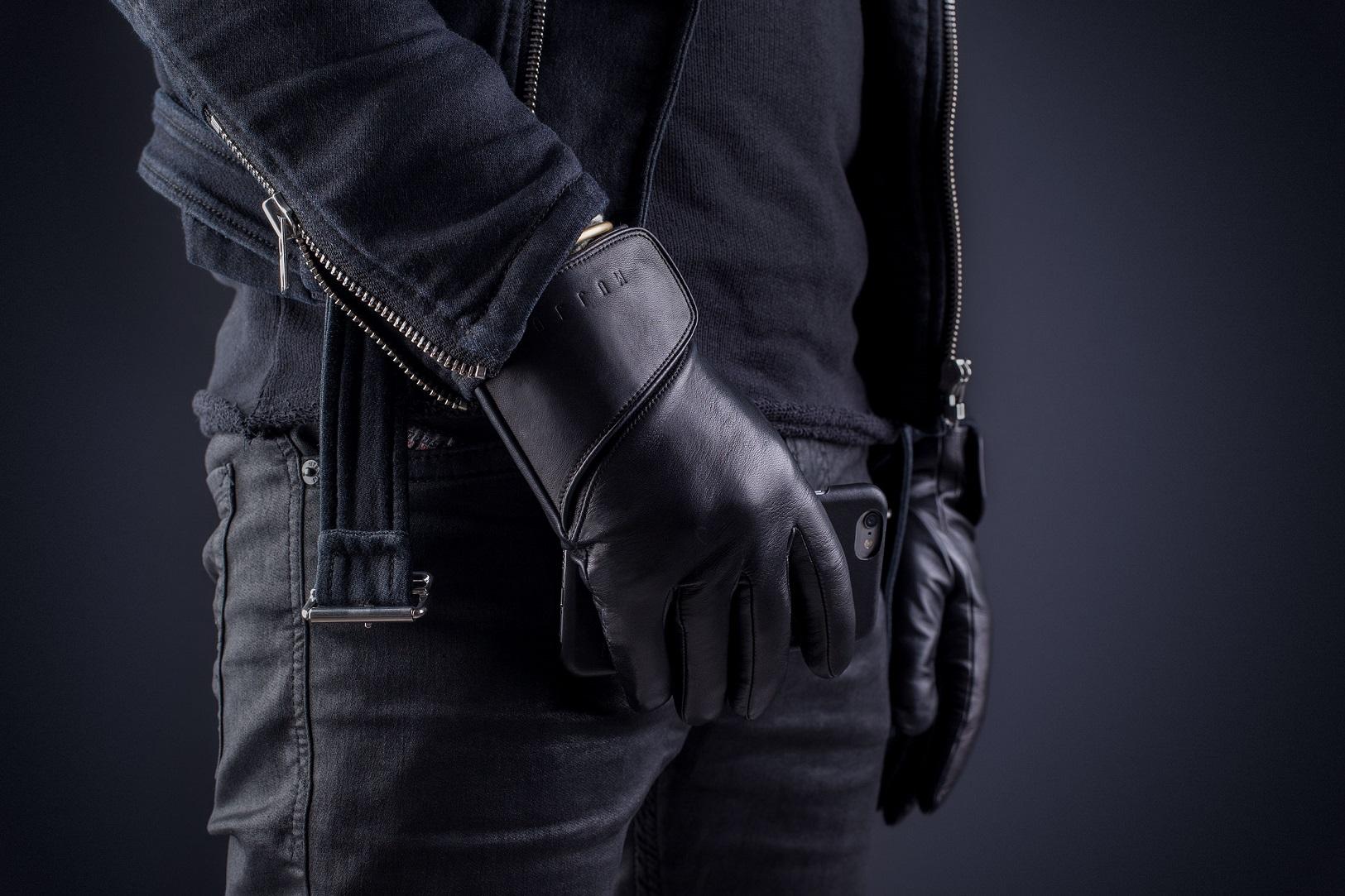 Mujjo diseño unos elegantes guantes