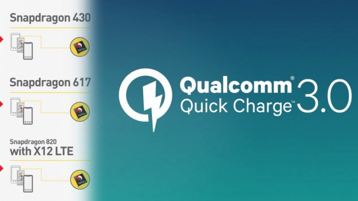 quick charge 3 procesadores