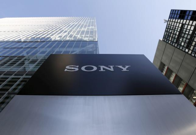 A logo of Sony Corp is seen outside its headquarters in Tokyo, Japan, January 27, 2016. REUTERS/Yuya Shino