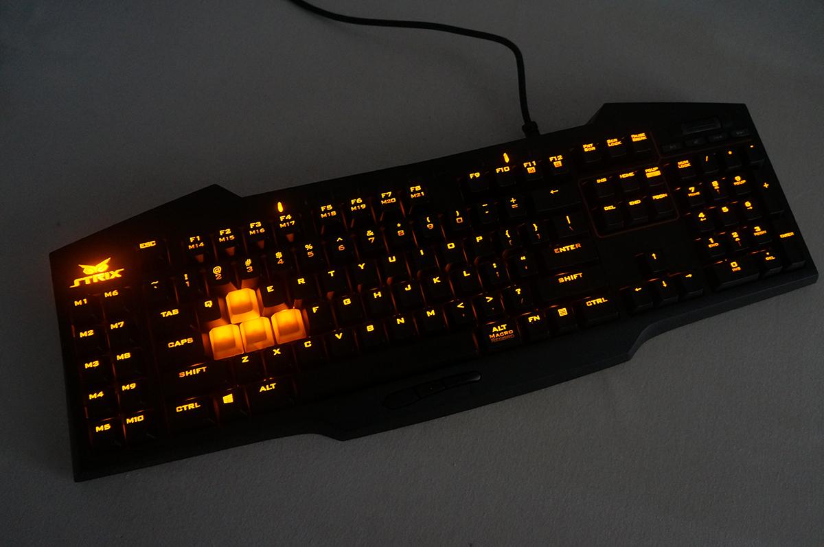 teclado mecanico asus strix tactic pro