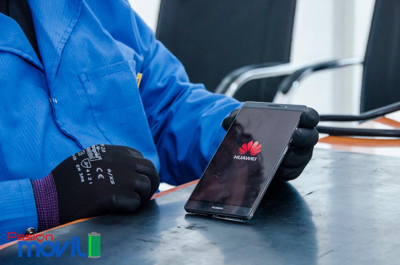 Huawei Mate 8 funcionaba perfectamente después del reensamblado