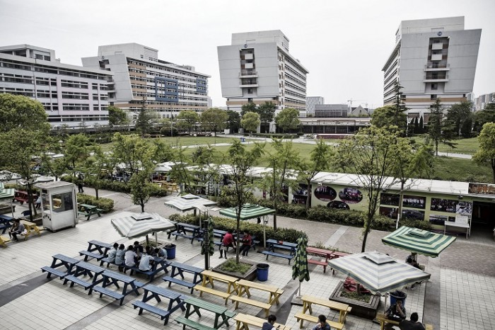 Fábrica Apple en Shangai 1