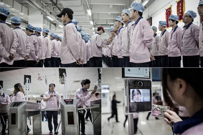 Fábrica Apple en Shangai