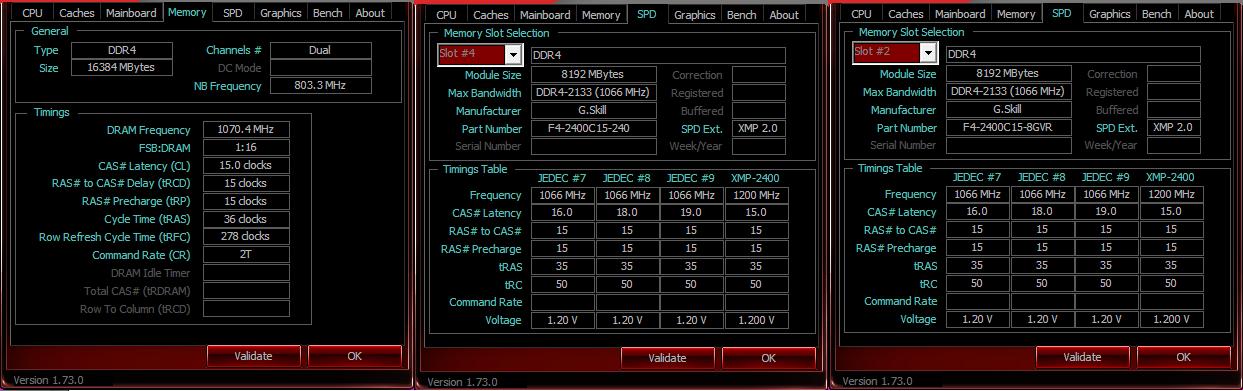 G.Skill Ripjaws V 2400 MHz