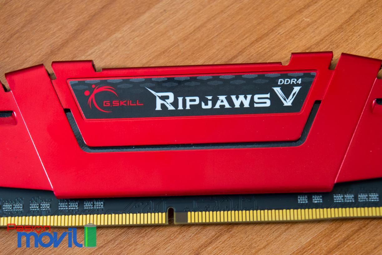 Ripjaws V presume un diseño bien trabajado