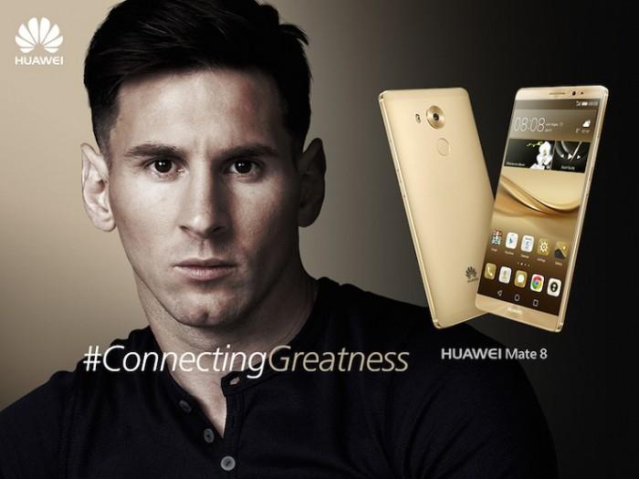 Huawei Mate 8 edición especial Lionel Messi