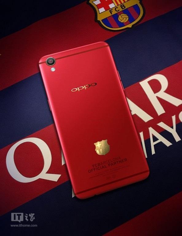 Oppo F1 Plus edición FC Barcelona
