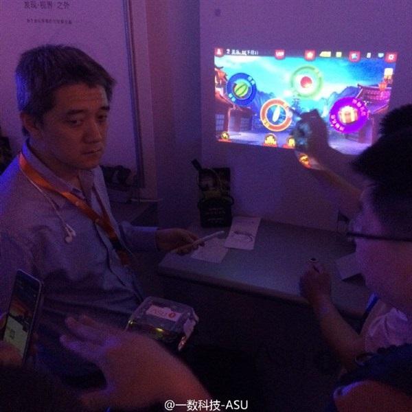 Presentación ASU smartwatch con proyector 1