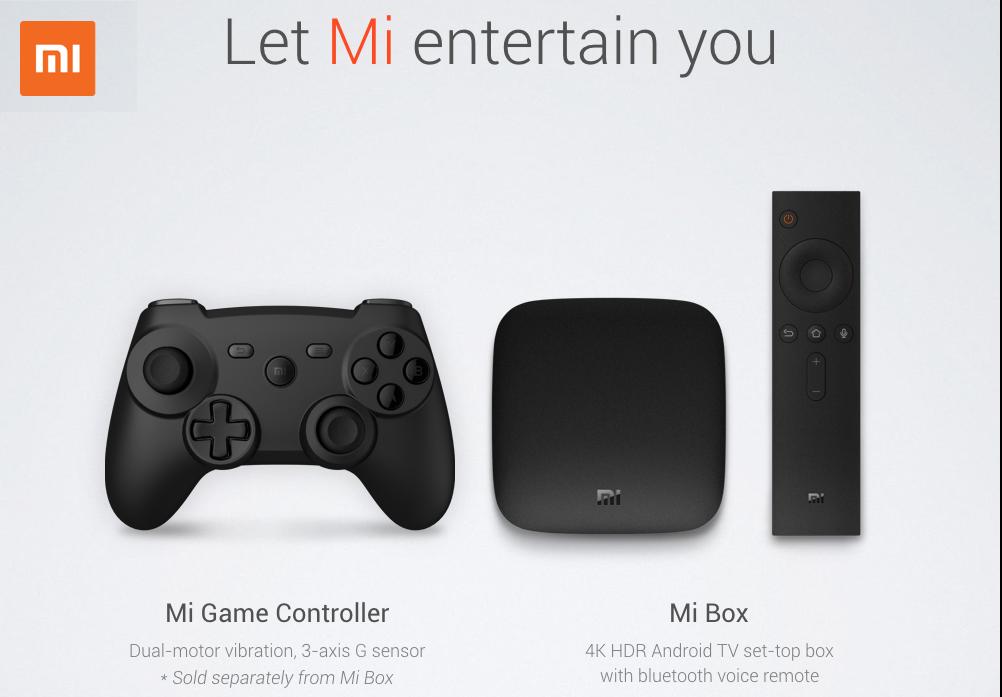 Xiaomi Mi Box tiene un agradable diseño