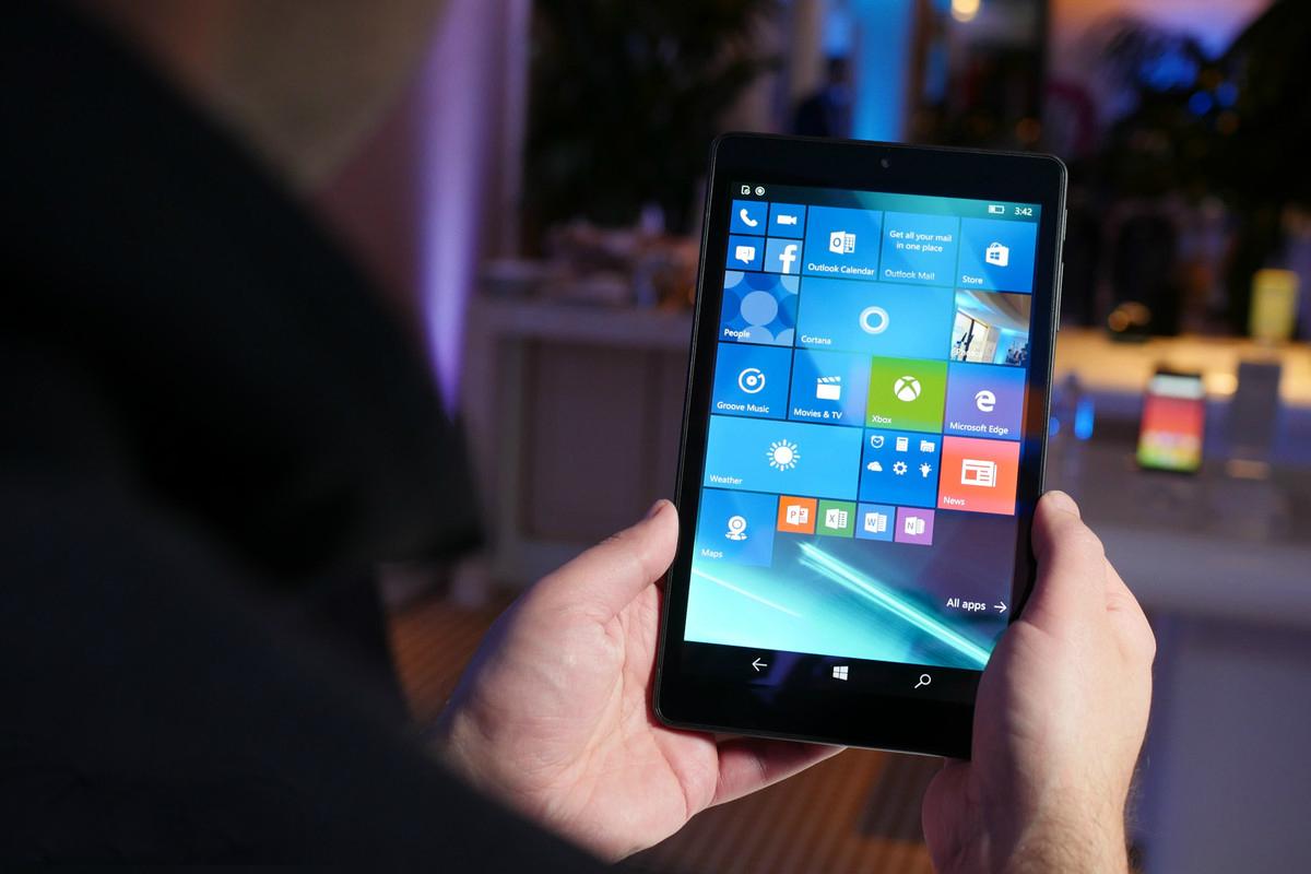 Pronto llegarán tablets de 9 pulgadas con Windows 10 Mobile