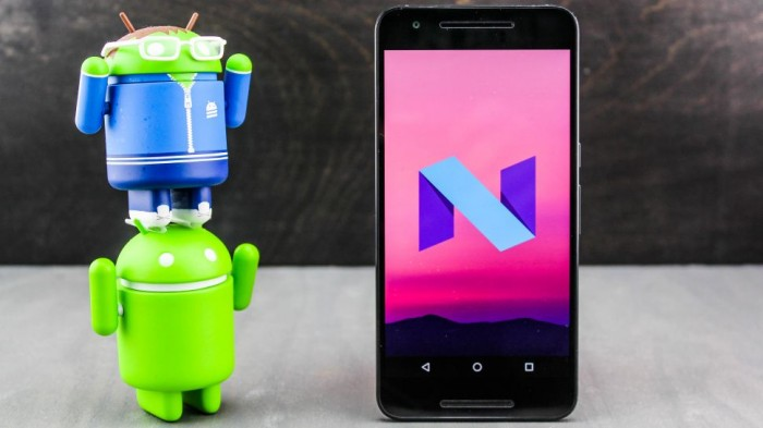 android-n robot