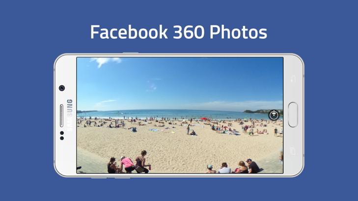 Disfruta fotografías en 360 grados a través de Facebook