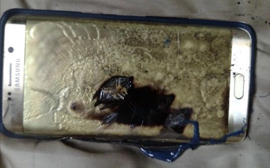 Samsung tiene un caso más de un equipo incendiado