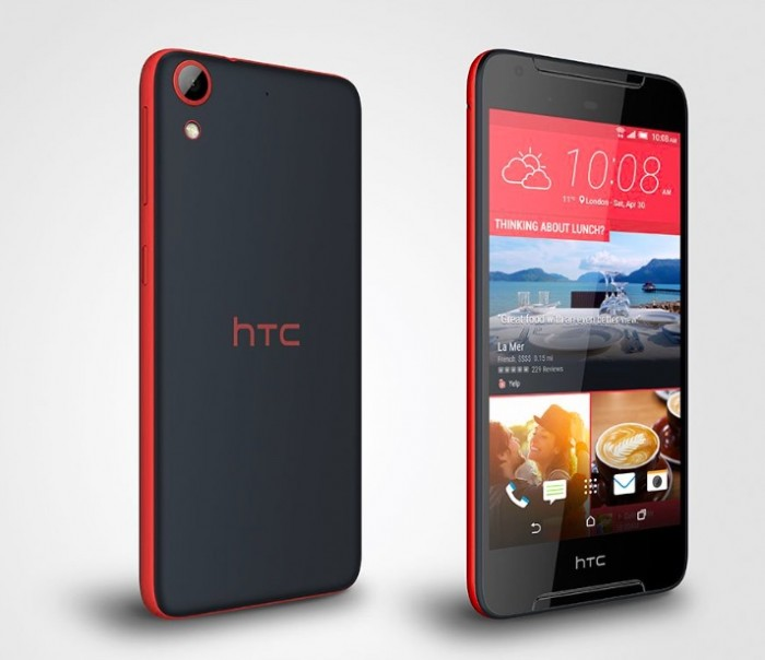 htc desire 628 rojo