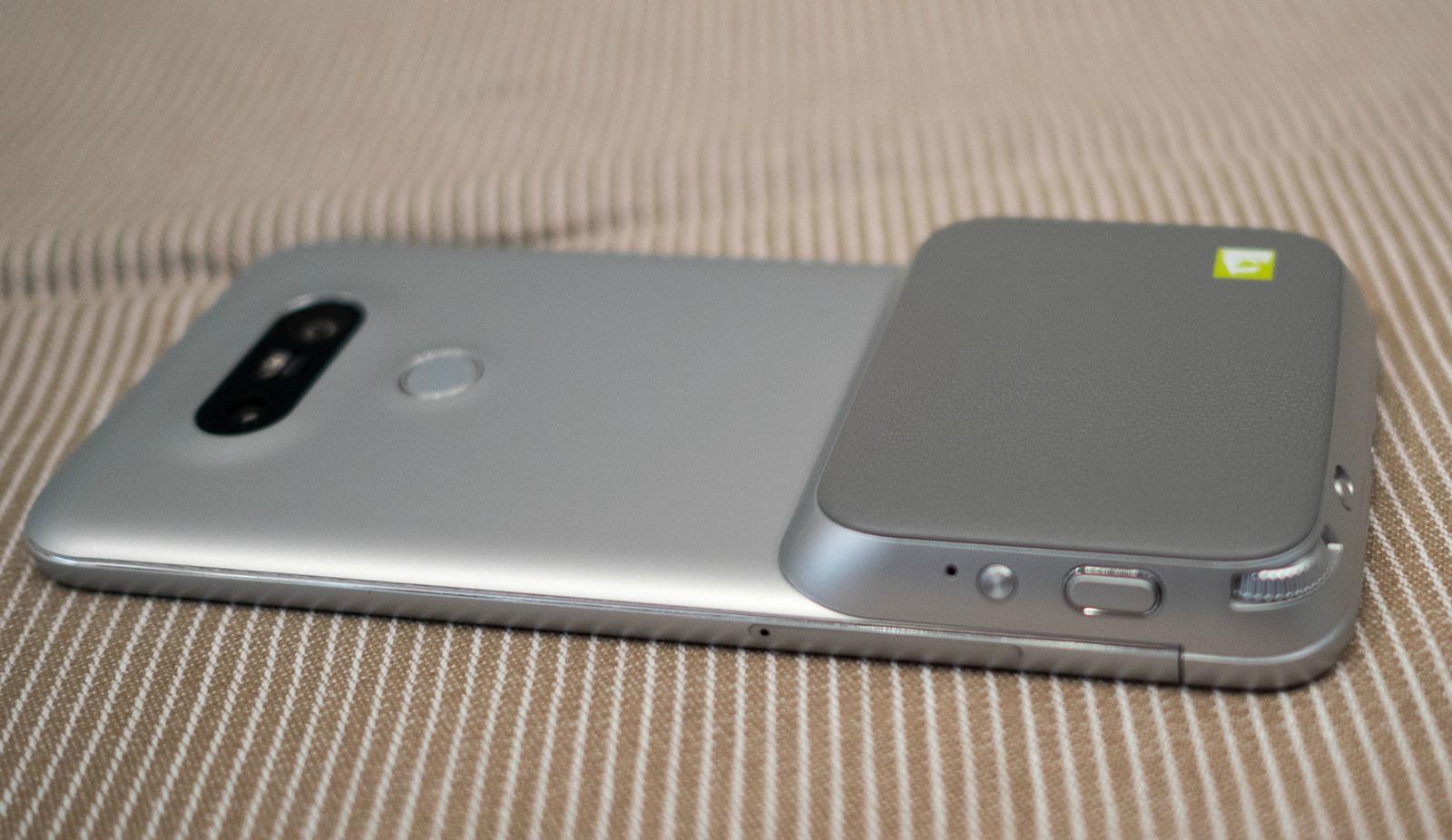 LG G5 Friends CAM Plus es un excelente añadido para controlar la cámara principal