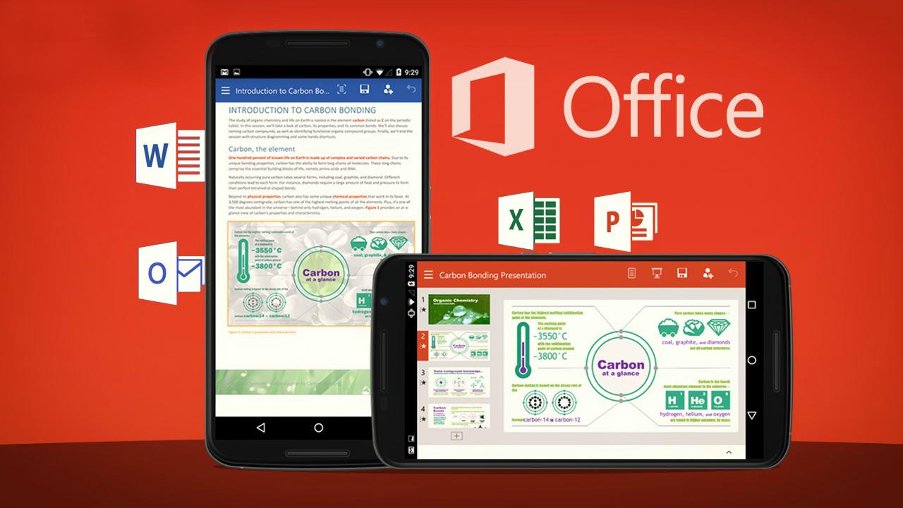 Microsoft continúa añadiendo funciones a Office para Android