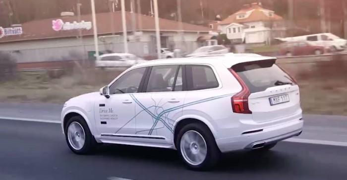 volvo auto autonomo