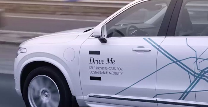 volvo drive me london