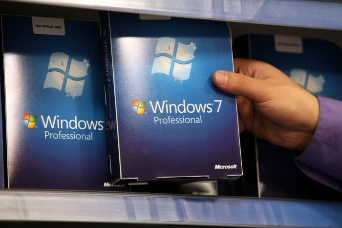 Windows 7 continúa perdiendo protagonismo