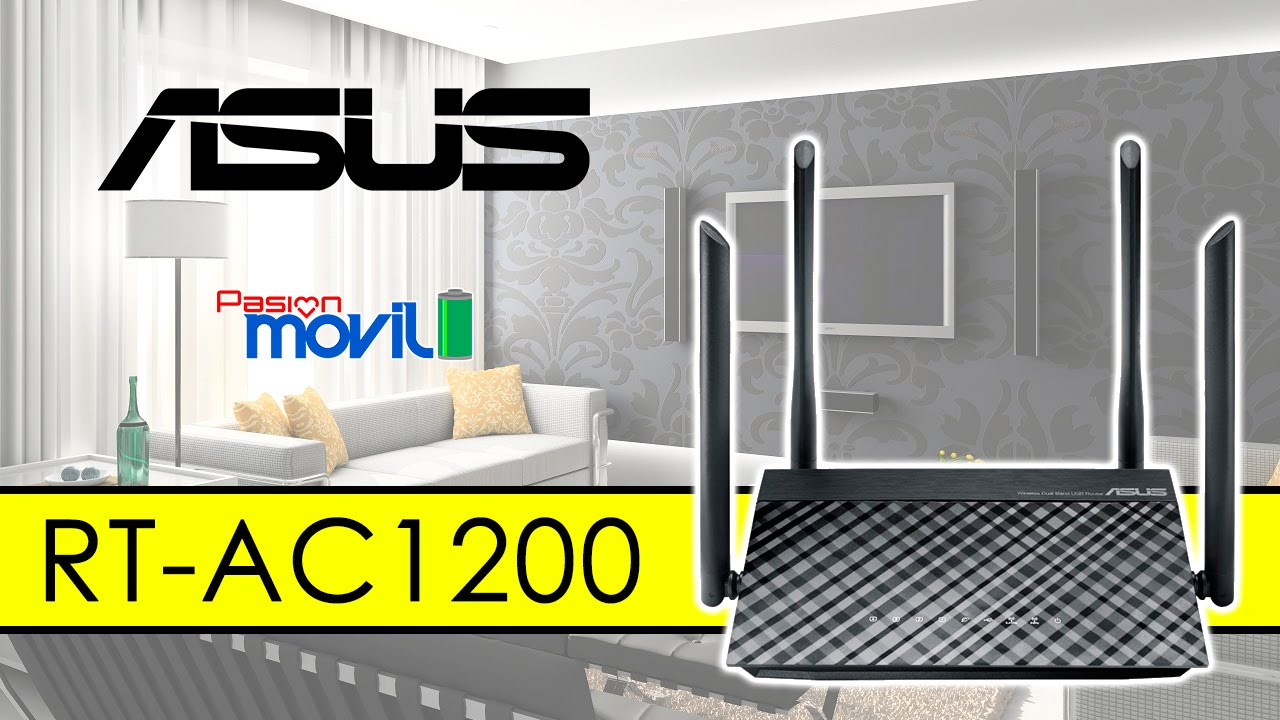 Puedes ganar hasta un router ASUS RT-AC1200.