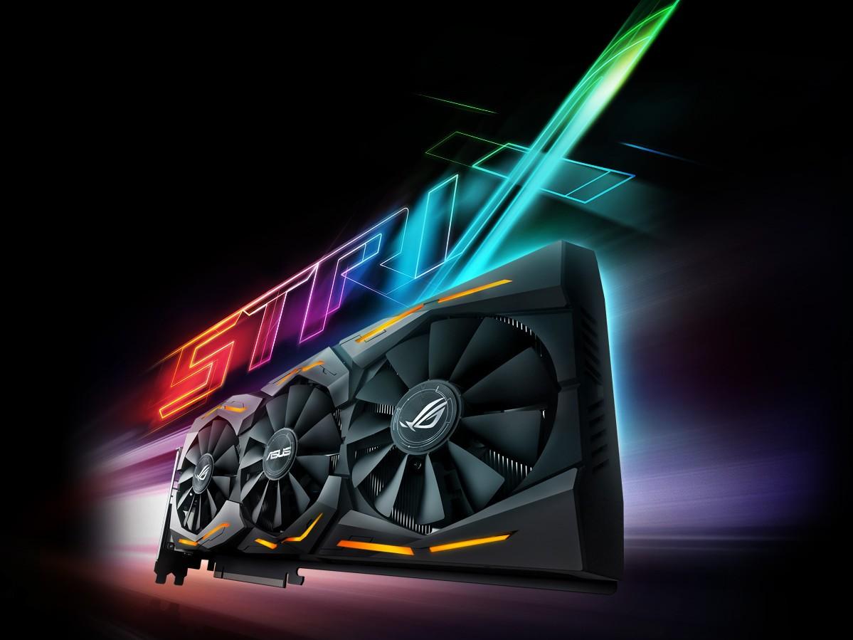 ASUS Strix GeForce GTX 1070 aura rgb lightnin