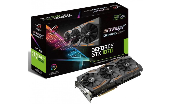 ASUS Strix GeForce GTX 1070 caja
