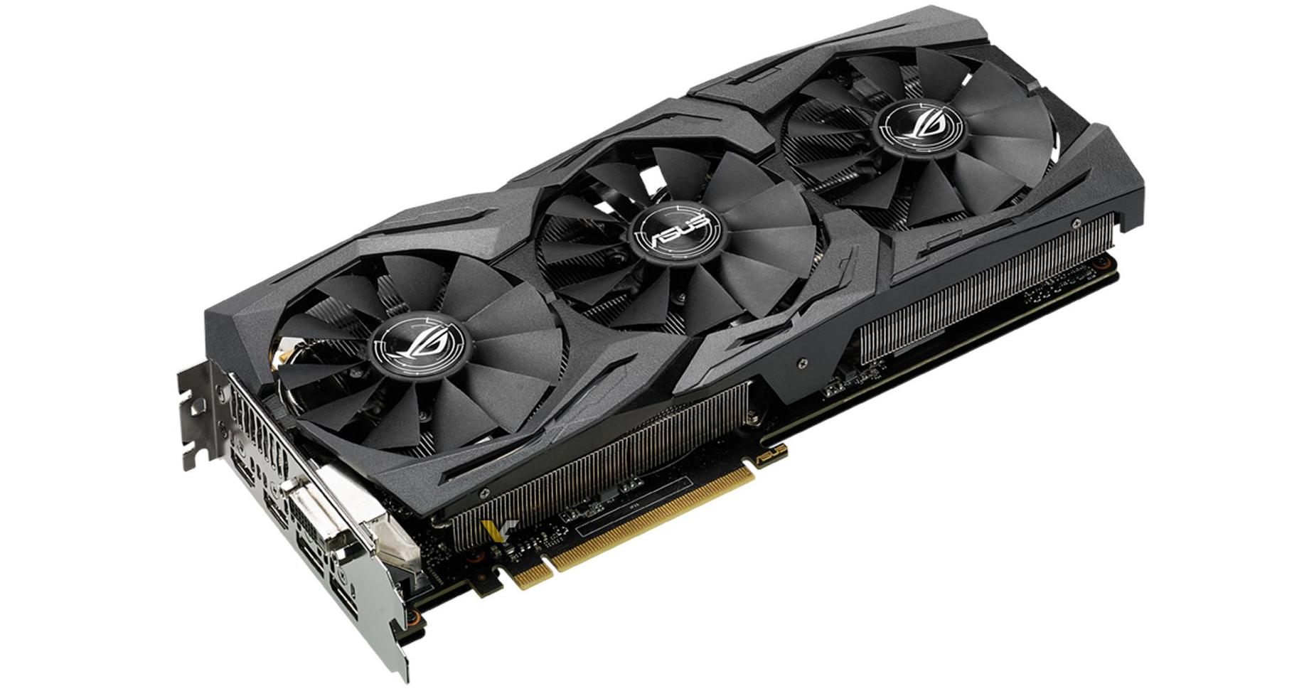 ASUS Strix GeForce GTX 1070 cuerpo