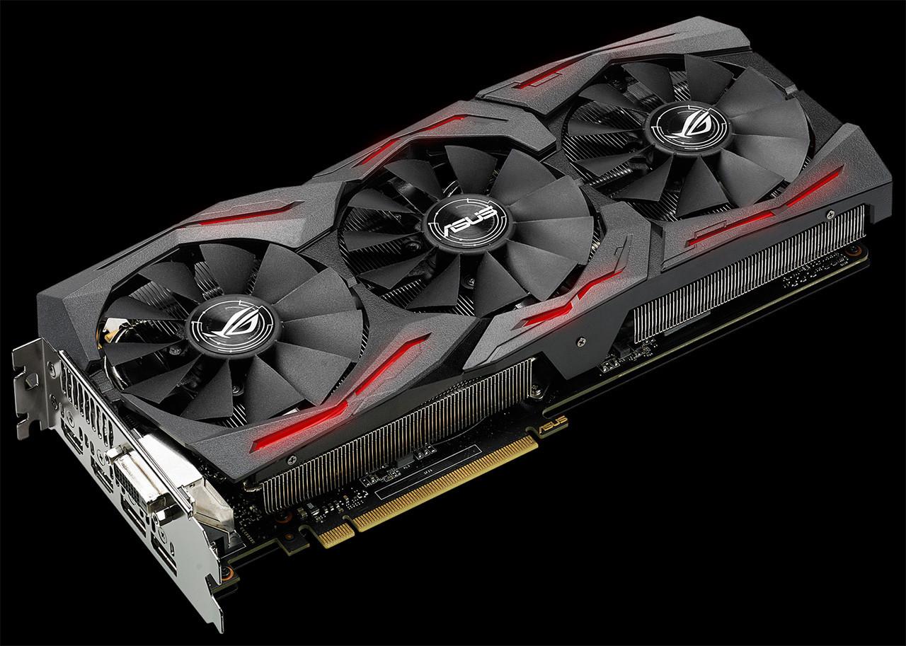 ASUS Strix GeForce GTX 1070 cuerpo_iluminado